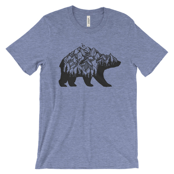 National Park Bear Adventure Unisex Bella Canvas T-Shirt - The National Park Store