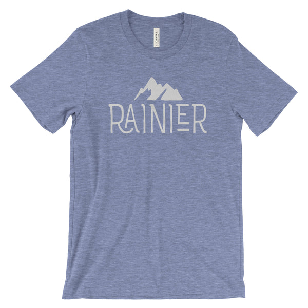 Mount Rainier National Park Adventure Unisex Bella Canvas Tshirt - The National Park Store