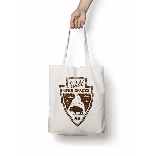 Wild Open Spaces National Parks Natural Canvas Tote Bag