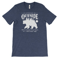 Get Yourself Outside Adventure Unisex Bella Canvas Tshirt - The National Park Store