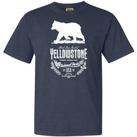 Yellowstone National Parks Bear T Shirt