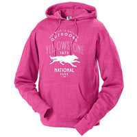 Yellowstone National Park Wolf Hoodie
