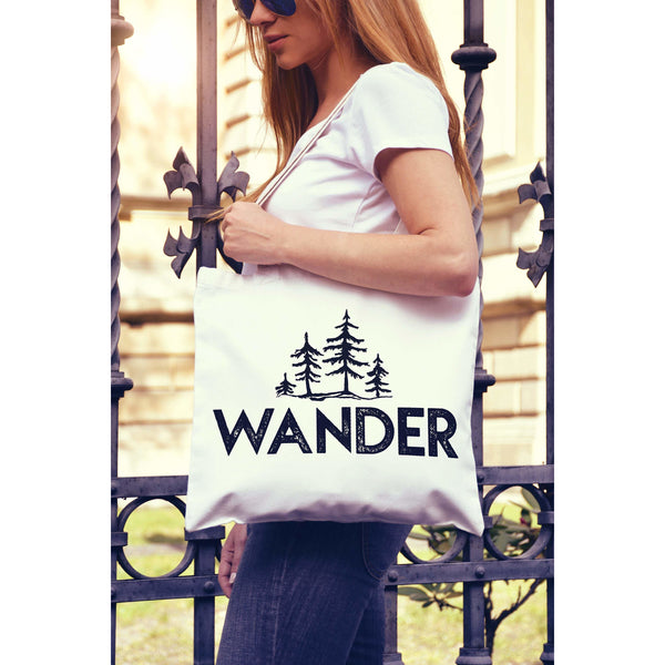 Wander Trees National Parks Canvas Tote Bag