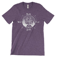 National Park Compass Adventure  T Shirt - The National Park Store
