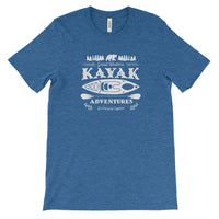 Kayak National Park Adventure Unisex Bella Canvas Tshirt - The National Park Store
