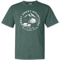 Great Smoky Mountains National Park Adventure Comfort Colors T Shirt - The National Park Store