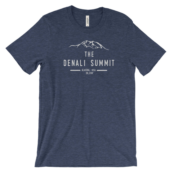 Denali Summit National Park Adventure Unisex Bella Canvas Tshirt - The National Park Store