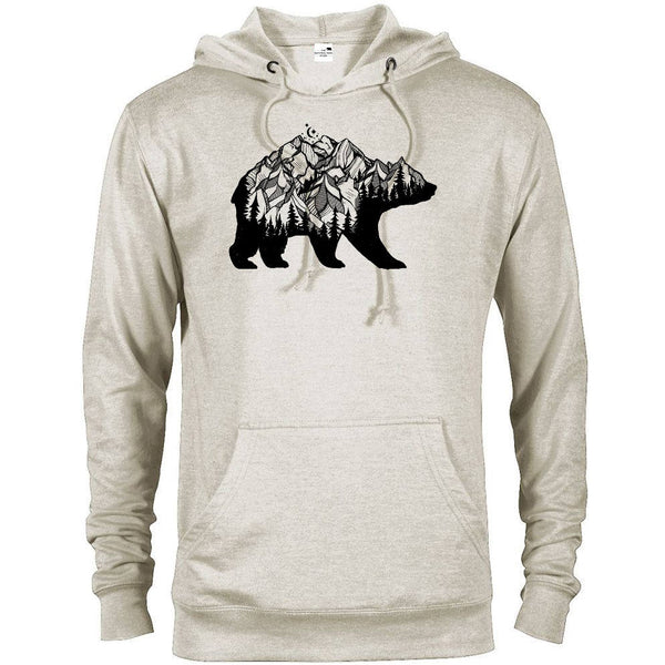 National Park Bear Adventure Unisex French Terry Hoodie - The National Park Store