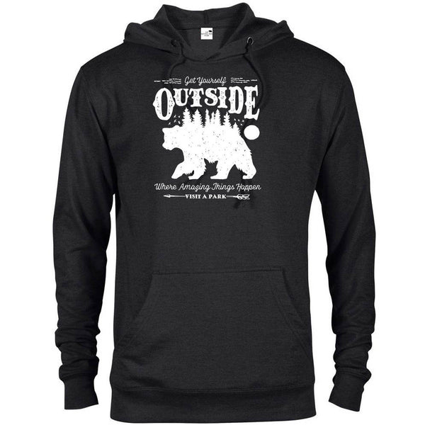 Get Yourself Outside National Park Adventure Unisex French Terry Hoodie - The National Park Store