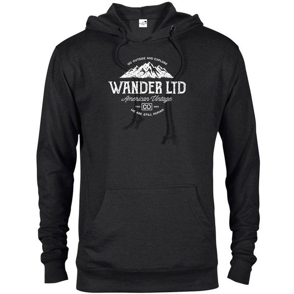 Wander Ltd National Park Adventure Unisex French Terry Hoodie - The National Park Store
