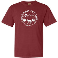 Grand Teton National Park Adventure Comfort Colors TShirt - The National Park Store