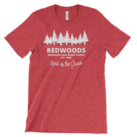 RedWoods National and State Parks Adventure Unisex Bella Canvas Tshirt - The National Park Store