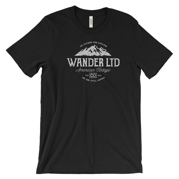 Wander Ltd Explore National Park Adventure Unisex Bella Canvas Tshirt - The National Park Store
