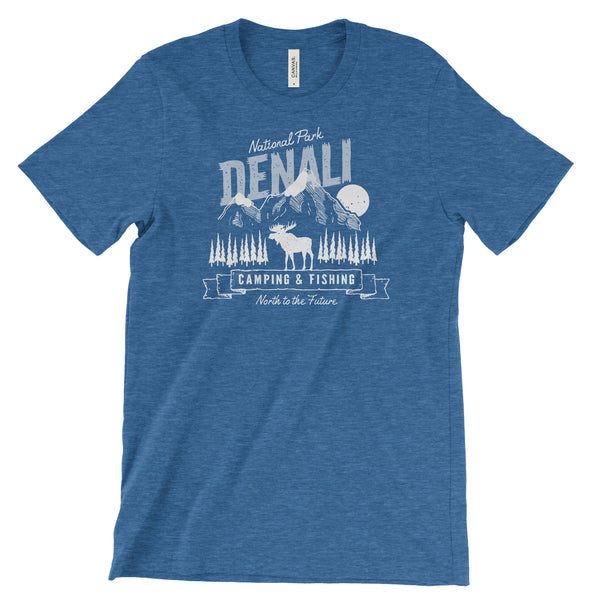 Denali National Park Adventure Unisex Bella Canvas Tshirt - The National Park Store