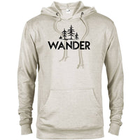 Wander Trees National Park  Adventure Unisex French Terry Hoodie - The National Park Store