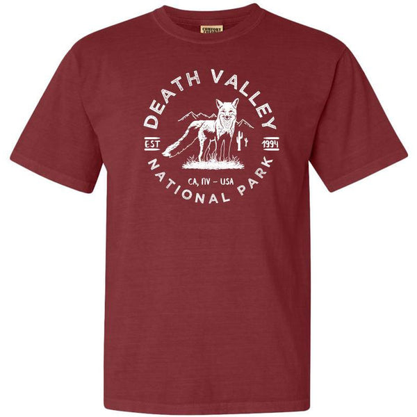 Death Valley National Park Adventure Comfort Colors TShirt - The National Park Store