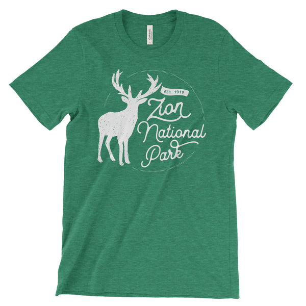 Zion National Park Adventure Unisex Bella Canvas Tshirt - The National Park Store