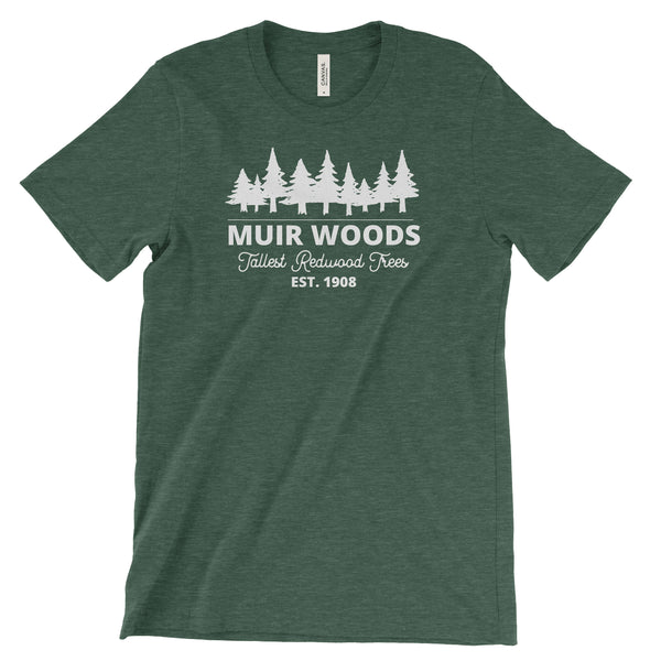 Muir Woods Redwoods Trees T shirt - The National Park Store
