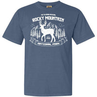 Rocky Mountain National Park Elk Adventure Comfort Colors TShirt - The National Park Store