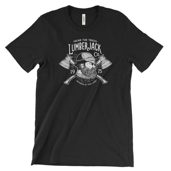 LumberJack National Park Adventure Unisex Bella Canvas Tshirt - The National Park Store