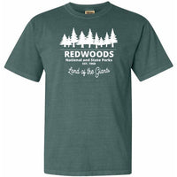 RedWood National Park Comfort Colors TShirt