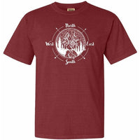 National Park Compass Adventure Comfort Colors T Shirt