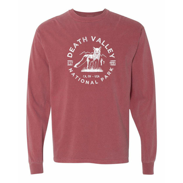Death Valley National Park Comfort Colors Long Sleeve TShirt