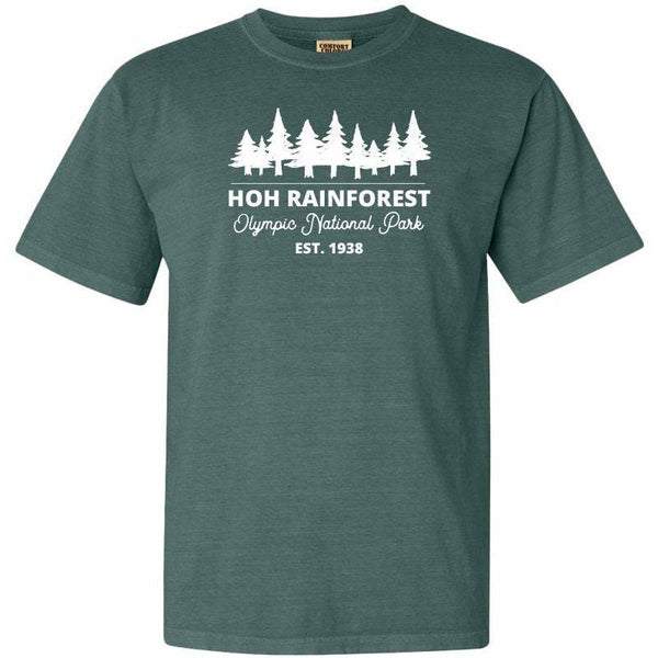 Hoh Rainforest Olympic National Park Comfort Colors T Shirt