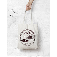 Great Smoky Mountains National Park Canvas Tote Bag