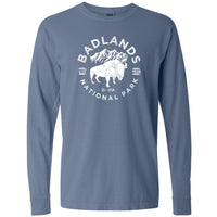 Badlands National Park Comfort Colors Long Sleeve T Shirt
