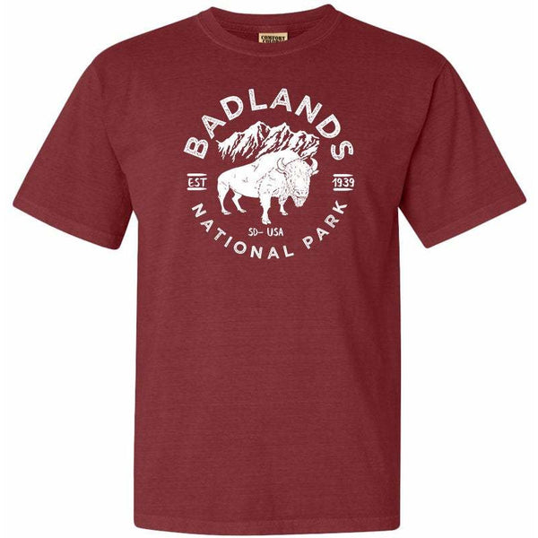 Badlands National Park Comfort Colors T Shirt