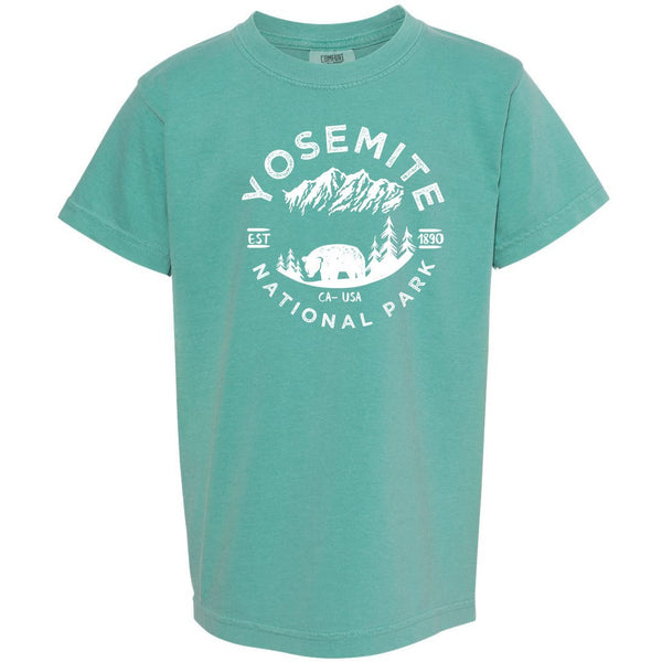 Yosemite National Park Youth Comfort Colors T shirt