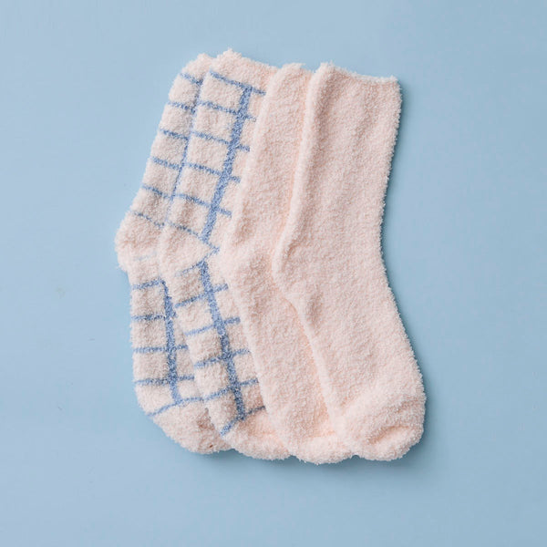 Aubrey Cozy Sock Duo