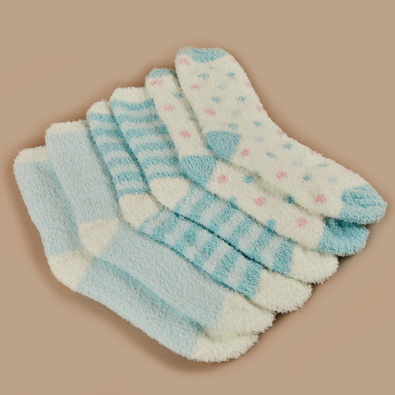 Lisa Socks - Mint Combo