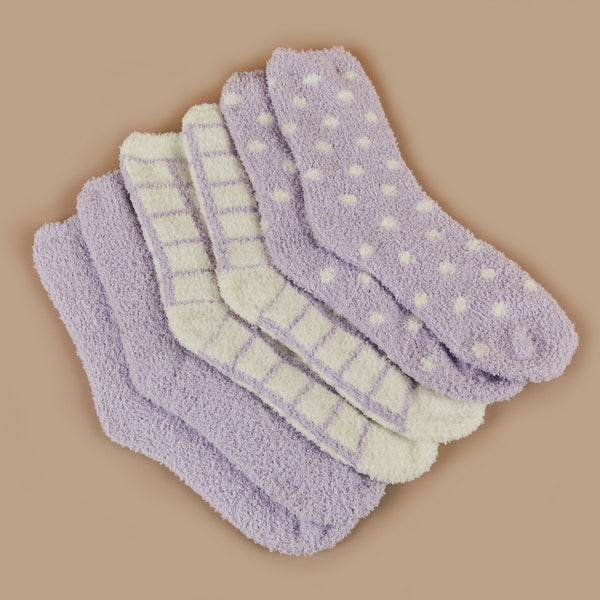 Lisa Socks - Purple