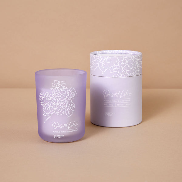 Desert Lilac Candle