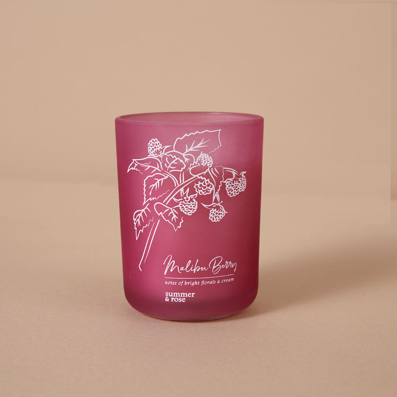 Malibu Berry Candle