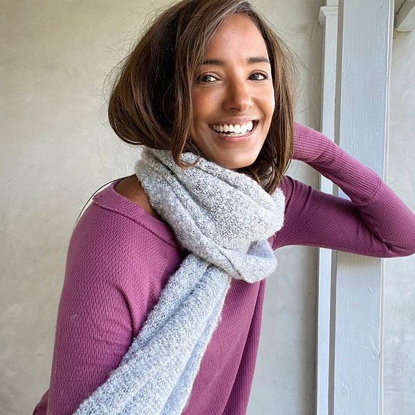 Cozy Scarf in Grey