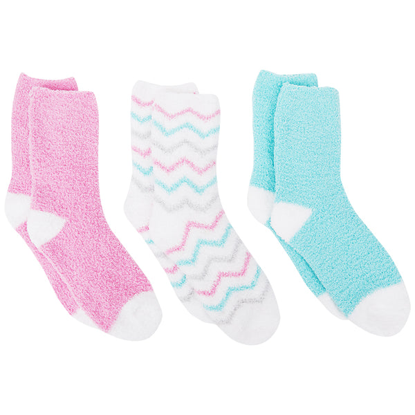 Pastel Cozy Socks - Pack of 3