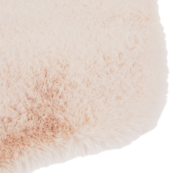 Faux Fur Bath Mat