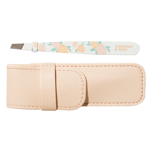 Rose Tweezer with Pouch