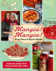 You've read our books. Now eat the food. Announcing Si Mangia Food Products.