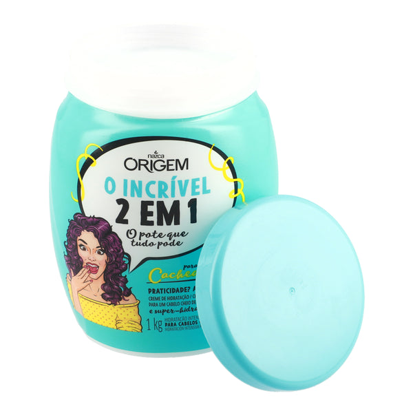 Origem Intense Moisture Hair Cream 2 In 1 Curly Hair 1kg