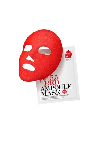 PH 5.5 Red Ampoule Mask | Mascarilla