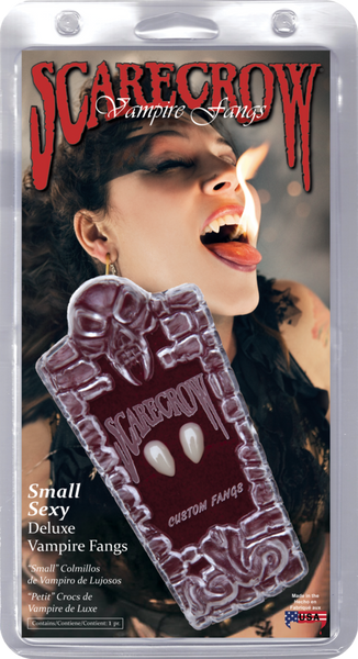 Scarecrow - Small Sexy Deluxe Vampire Fangs