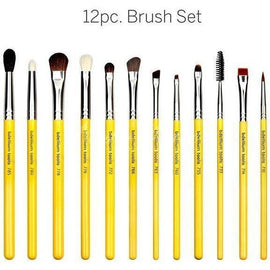 Bdellium Tools -Studio Eyes 12pc. Brush Set with Roll-up Pouch Studio - Nuestro Secreto