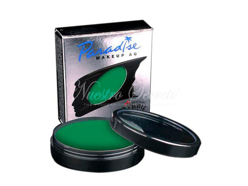 Mehron - Paradise Makeup AQ - Amazon Green - Nuestro Secreto
