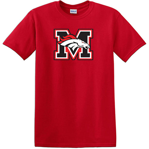 Red Mustang Bronco T-Shirt