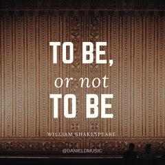 to be or not to be quote