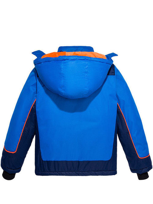Boy's Waterproof Ski Jacket Fleece Kids Winter Coat